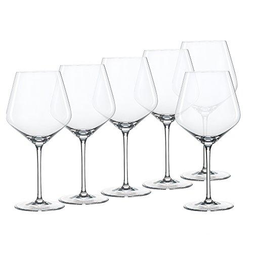 Spiegelau & Nachtmann 4675200 Style Lot de 6 verres à vin rouge