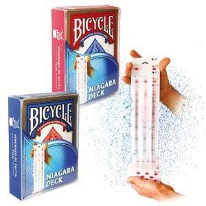 Mazzo di Carte Bicycle - Mazzo Niagara - dorso rosso - Card Deck Bicycle - Niagara Deck - red back - Mazzi Bicycle - Carte da gioco - Giochi di Prestigio e Magia