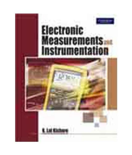 Electronic Instruments Books : Electronic measurements instruments by k lal kishore