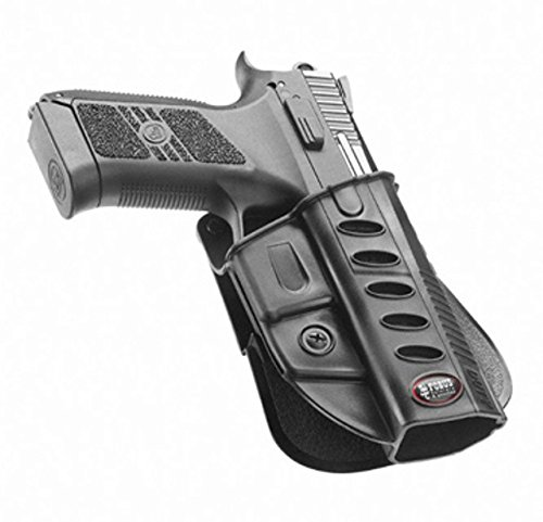 Fobus Concealed Carry Paddle Holster + Thigh Rig For Cz Duty P07 / P09