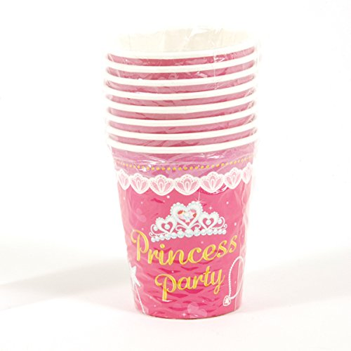 Princess Patterned Printed Cups (Sold by 1 pack of 36 items) PROD-ID : 1883068