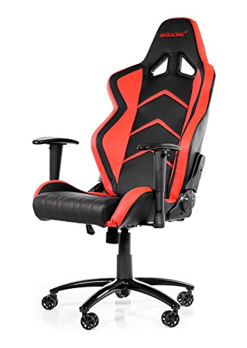 AK Racing Player PC Gaming Chair - Black and Red - AK-K6014-BR