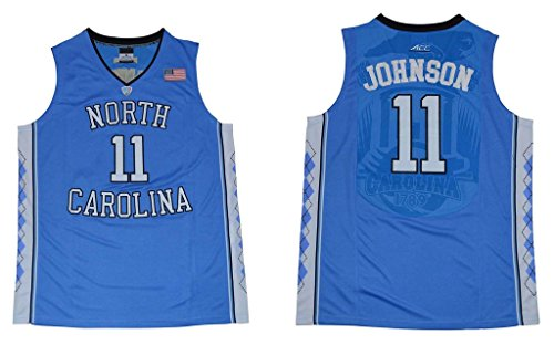 CRISGIORD 2016 Men's North Carolina Tar Heels Basketball Jersey NO.11 Brice Johnson Jersey