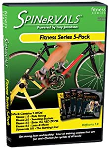 Spinvervals Fitness Series 5-DVD Pack (includes Fitness 1.0 - 4.0 and Spinervals 101) by Spinervals