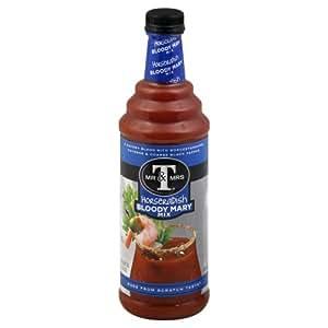 com : Mr & Mrs T Horseradish Bloody Mary Mix (6 Bottles) : Bloody Mary ...
