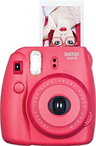 Fujifilm Instax Mini 8 Instant Film Camera (White) (Certified Refurbished)