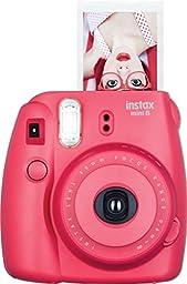 Fujifilm Instax Mini 8 Instant Film Camera (Raspberry) (Certified Refurbished)