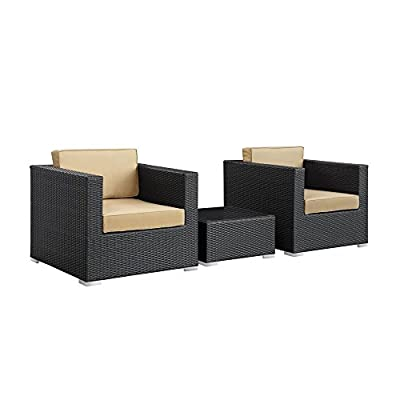 Burrow 3 Piece Patio Sectional Set