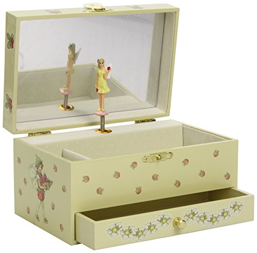 trousselier-strawberry-flower-fairies-musical-jewellery-box