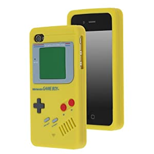 Chromo Inc. Yellow Nintendo Game Boy Case Cover For Apple iPhone 4 4S AT&T Verizon Sprint