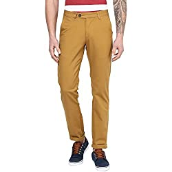Byford by Pantaloons Men's Trousers 205000005549693_Gold_30