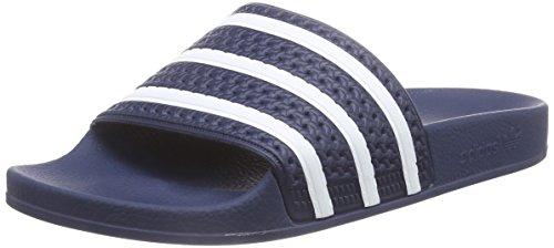 Adidas ADILETTE 280647, Sandali unisex adulto, blu (Blau (ADIBLU/WHT/ADIBLU)), 42 EU/8 UK