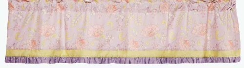 KIDSLINE BY DENA SNOW FLOWER COLLECTION WINDOW VALANCE - 1
