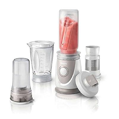 Philips HR-2874. (Including Tumbler) Best Power Blender. Vegetable Chopper. Juice Maker Blender. White&Gray. 220-240 V. 50/60Hz
