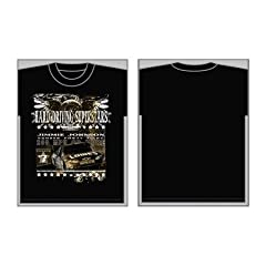 48 Jimmie Johnson Mens Black Concert Style Tee Shirt Top Medium by Chase Authentics