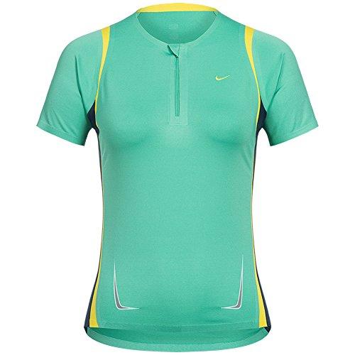 Nike-Wmns Air Huarache Run ID Donna Scarpe da ginnastica, Verde (Spring Green), M
