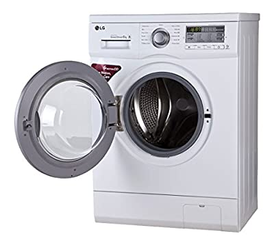 LG FH0B8NDL21 Fully Automatic Front Loading 6 kg Washing Machine (Blue White)
