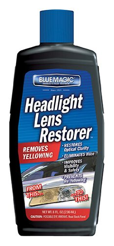 Blue Magic 725CD-06 Headlight Lens Restorer - 8 oz. (Auto Lense Cleaner compare prices)