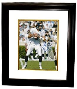 Matt Schaub signed Virginia Cavaliers 8x10 Photo Custom Framed