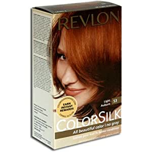 Revlon Colorsilk Haircolor #53 Light Auburn 5R