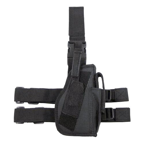 Army Tactical Security Combat Leg Holster Mag Pouch Right Hand Airsoft Black