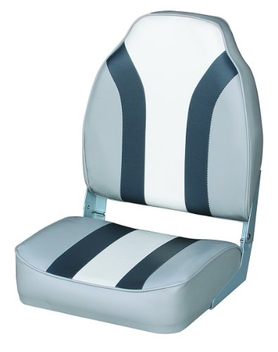 Wise Classic Stripe High Back Boat Seat Grey Charcoal White Price Anything Nguyen165n3