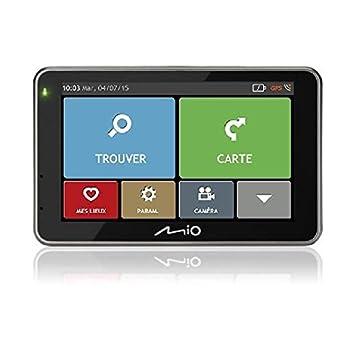 Mio 5420027525891 GPS Noir, Gris, Argent