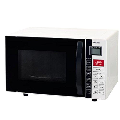 山善(YAMAZEN) オーブンレンジ 16L (重量センサー・温度センサー搭載) ホワイト YRC-160V(W)