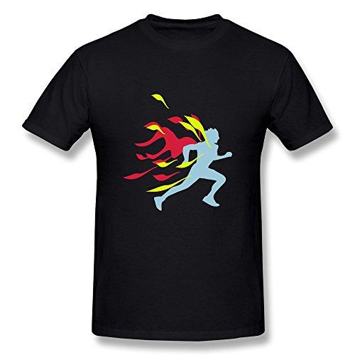 Runner Flames Men'S Gifts T-Shirts