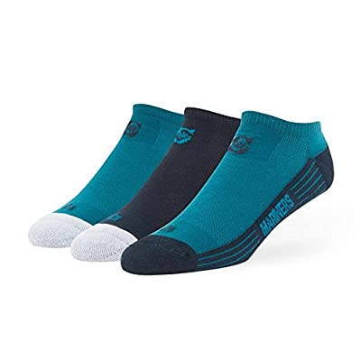 Seattle Mariners No Show Socks 3 Pack