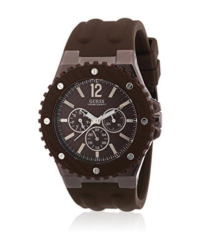 Guess Reloj de cuarzo Man W11619G3 Marrón 44 mm