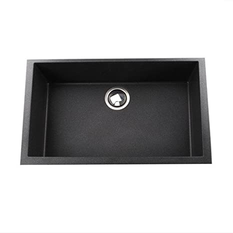 "Plymouth 30"" x 17.75"" Kitchen Sink Finish: Black"