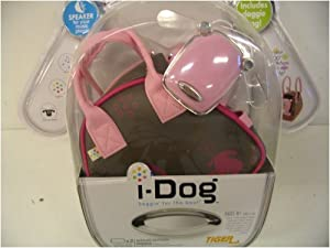 I-DOG with Doggie Bag - Pink Flowers