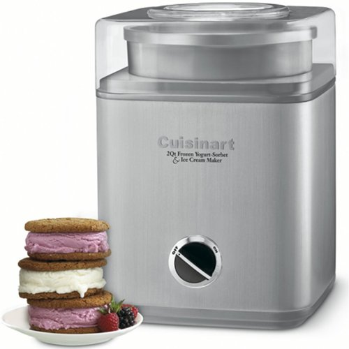 ICE-30BC Pure Indugence Frozen Yogurt/Ice Cream Maker (Certifed Refurbished) (Refurbished Ice Maker compare prices)