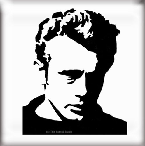 The Stencil Studio Famous Faces Range James Dean