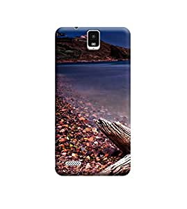 TransMute Premium Printed Back Case Cover With Full protection For InFocus M330 (Designer Case)