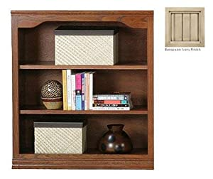 Coastal Promo Open Bookcase Finish: European Ivory, Size: 32""