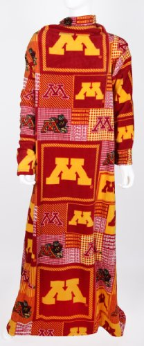 Officially Licensed Minnesota Gophers Snuggie-University Of Minnesota Snuggie-