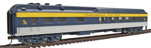 Walthers HO 932-10168 Heavyweight Diner C&O (Ready-to Run)