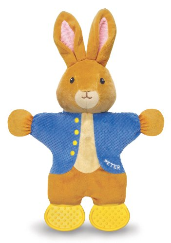 Kids Preferred Peter Rabbit Teether Toy, The World Of Beatrix Potter front-997943