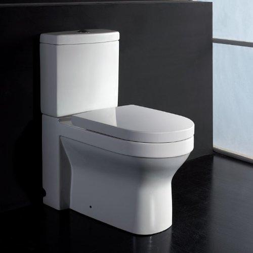 EAGO Design Stand-WC WA101SP Boden-/Wandabfluss