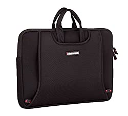 Neopack Handle Sleeve / Slim Bag for All 14 inch Laptops & 15.4 inch Macbook Pro - Black (HP, Apple Macbook, Sony, Samsung, Lenovo, IBM, Asus, Toshiba, Compaq, Acer