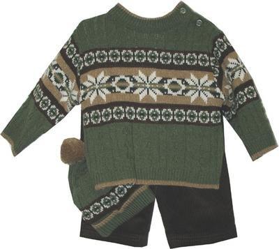 Newborn Boys 3pc Green Printed Sweater Pants Set - Buy Newborn Boys 3pc Green Printed Sweater Pants Set - Purchase Newborn Boys 3pc Green Printed Sweater Pants Set (B.T. Kids, B.T. Kids Apparel, B.T. Kids Toddler Boys Apparel, Apparel, Departments, Kids & Baby, Infants & Toddlers, Boys, Pants)