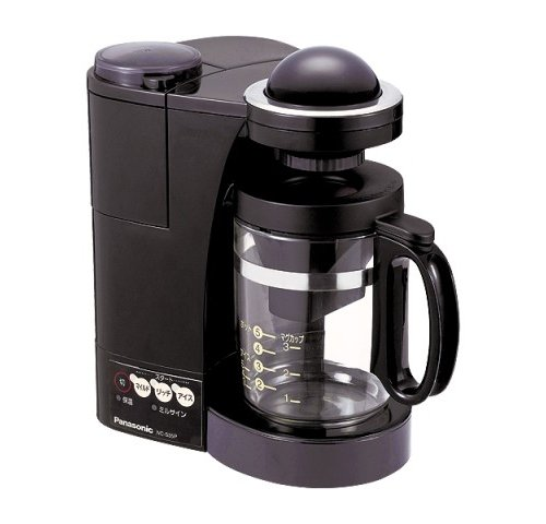 Panasonic コーヒーメーカー ブラック NC-S35P-K
