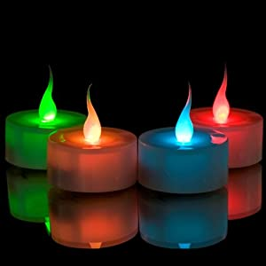 Smart Candle Flameless LED Colour Change Tealights (Pack of 6) from Maingate Ltd