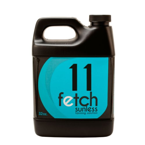 Fetch Sunless Spray Indoor Tanning Airbrush Solution 11% Dha Dark Formula 32Oz front-811716