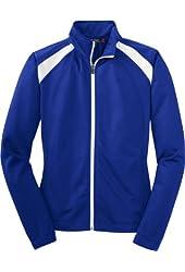 Sport-Tek Women's Long Sleeve T90 Tricot Track Jacket