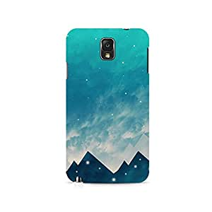 TAZindia Printed Hard Back Case Cover For Samsung Galaxy Note 3
