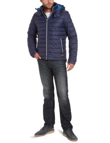 G Star Headon Hooded Men's Jacket Naval Blue XX-Large
