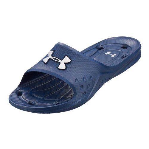 Under Armour - Scarpe da spiaggia, Uomo, colore blu, taglia 42.5